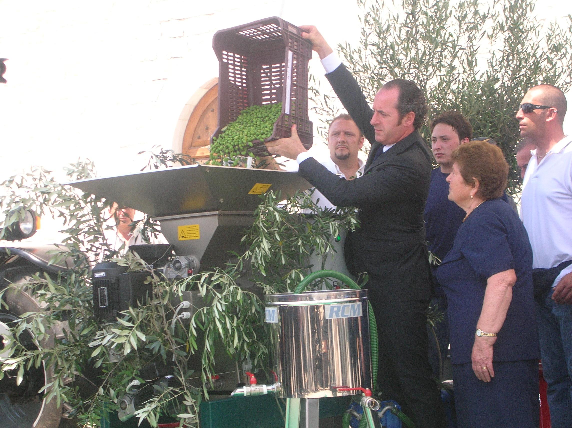 Zaia e le olive cilene. E' la stampa bellezza