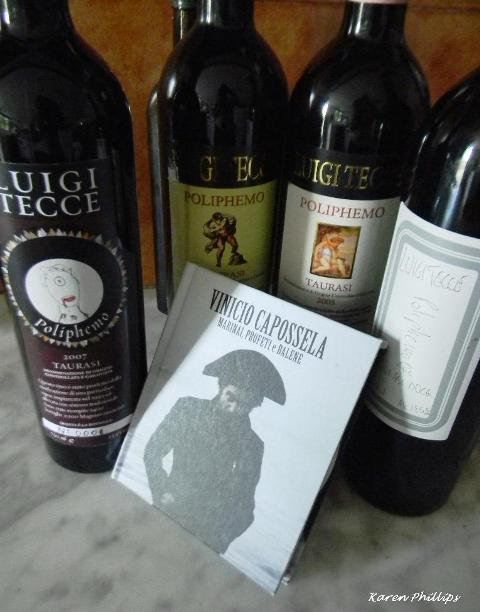 Luigi Tecce, Poliphemo e Capossela