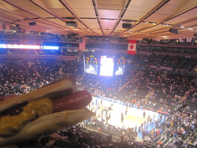 Quelli che l'hot dog all'NBA...