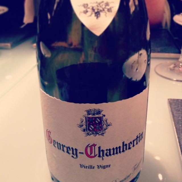 Gevrey - Chambertin Vieille Vigne Fourrier | L'eccezione che conferma la regola