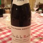 Piccole annate grandi vini | Pierre Amiot - Clos de la Roche 2004