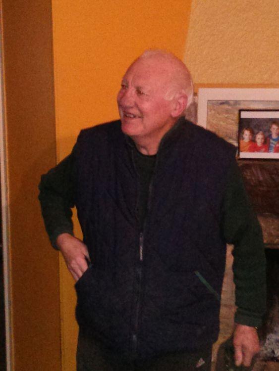 Pierre Overnoy nella sua cantina di Pupillin, Arbois, Jura