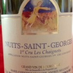 Mugneret-Gibourg, Nuits-Saint-Georges 1er Cru Les Chaignots 2010