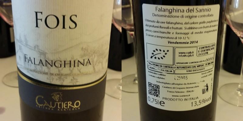 Cautiero - Falanghina '14