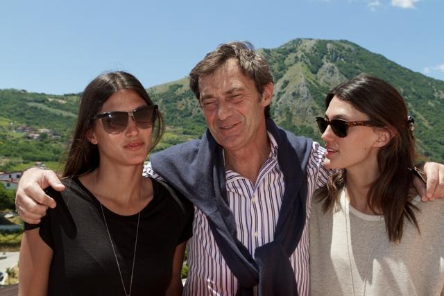 Andrea D'Ambra con le figlie Marina e Sara - foto: Andrea Rigione