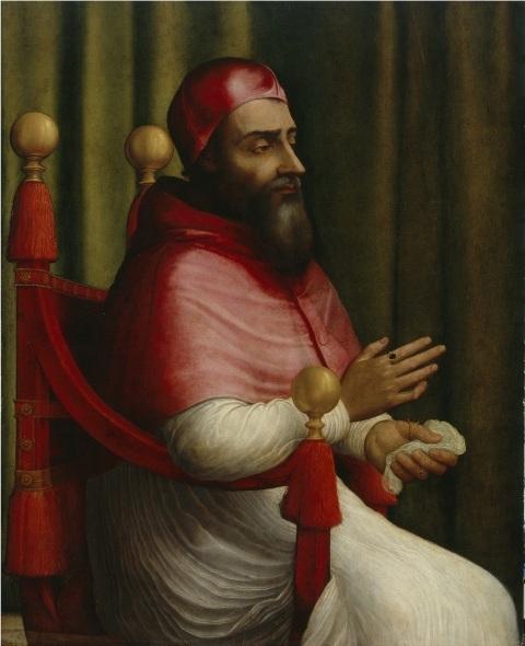 Giuliano Bugiardini -Ritratto di papa Clemente VII
