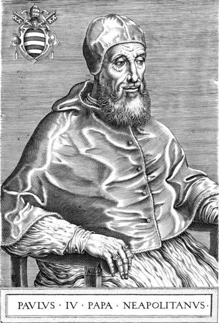 Gian Pietro Carafa alias Papa Paolo IV
