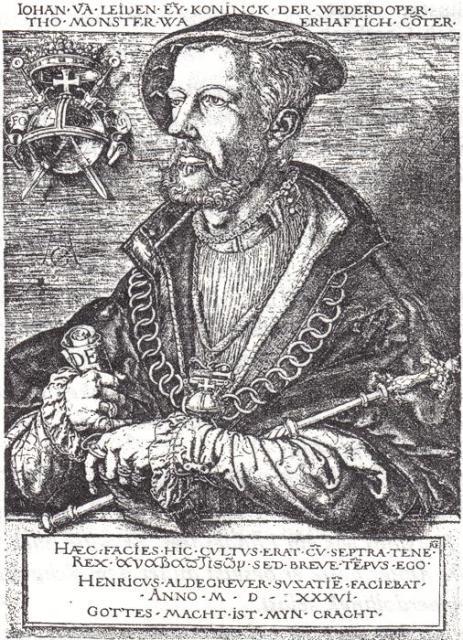 Jan Beukels alias Johan Bockelson alias Giovanni di Leida - da www.mybude.com
