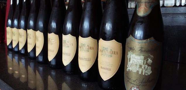 Pillole di Wine Club #9 | Verticale Tenuta Frassitelli Casa D'Ambra