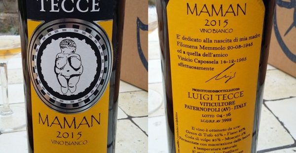 Maman Bianco 2015, Luigi Tecce