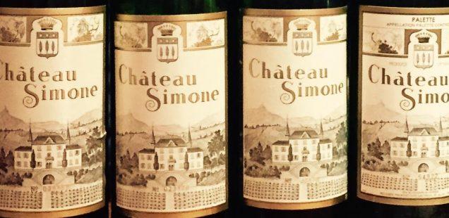 Chateau Simone Palette Blanc   La Provenza che siede al tavolo dei grandi vini di Francia