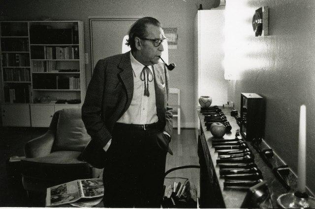 George Simenon - Crediti foto: bergamofilmmeeting.it