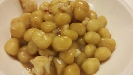 Gnocchetto di patate ai gamberoni