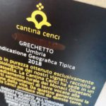 Quarant.eno #10 | Cantina Cenci, Grechetto Bag in Box 2018